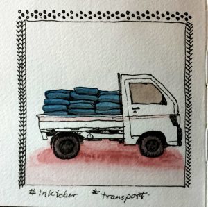 Inktober transport
