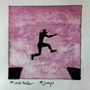 Inktober jump