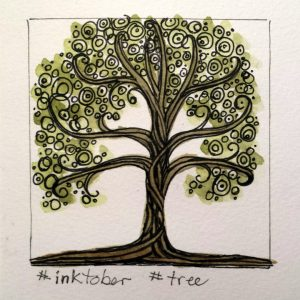 inktober tree