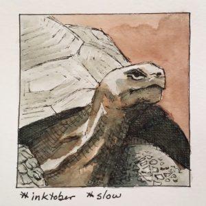 Inktober slow