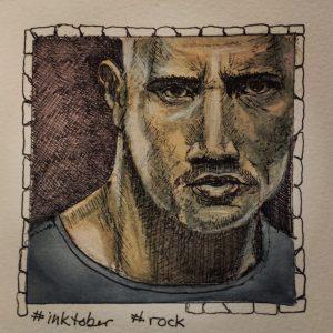Inktober rock