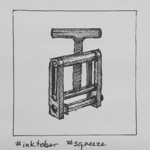 Inktober squeeze